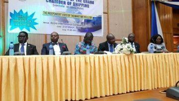 NCS at Ghana Chamber of Shipping Inauguration