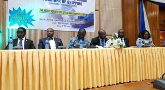 NCS at Ghana Chamber of Shipping Inauguration