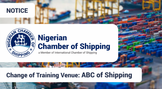 Change of Training Venue for ABC of Shipping
