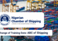 Change in Training Date: ABC of Shipping
