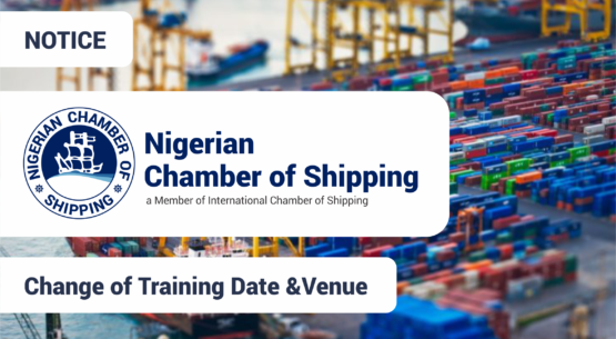 Change of Training date and Venue for DRY CARGO TRADING & CHARTERING