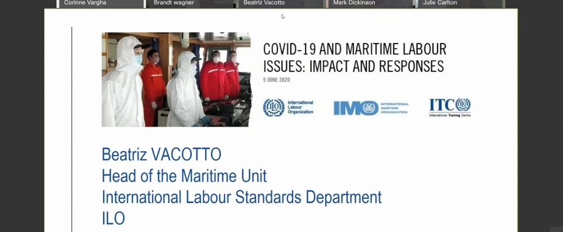 NCS participates at Covid-19 and Maritime Labour Issues: Impacts and Responses.