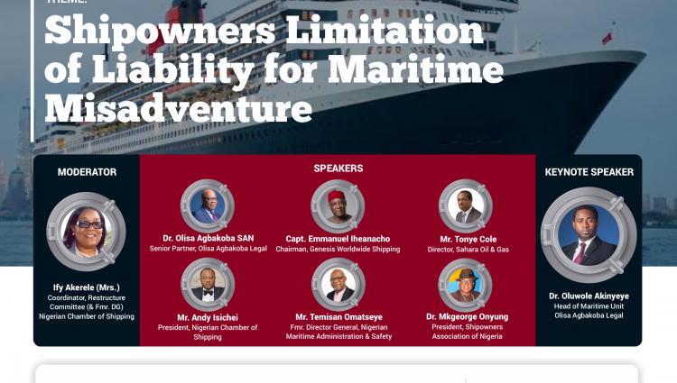 Webinar: Shipowners Limitation of Liability for Maritime Misadventure